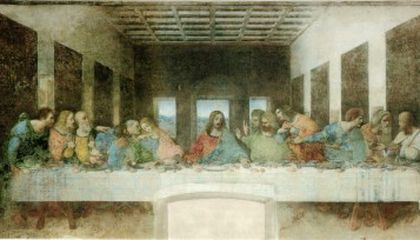 The Last Supper: Art as Large as Life