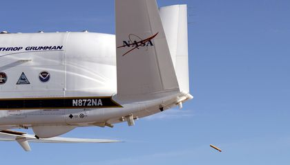 Dropsondes Go Where Even Hurricane Hunters Fear to Fly
