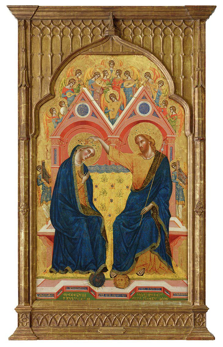 Paolo and Giovanni Veneziano, <em>The Coronation of the Virgin</em>, 1358