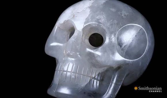 Preview thumbnail for video'Is This Crystal Skull Really Ancient?