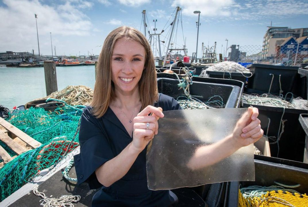 This Bioplastic Made From Fish Scales Just Won the James Dyson Award