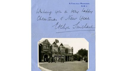 Christmas Card Addressed to Bletchley Codebreakers Discovered
