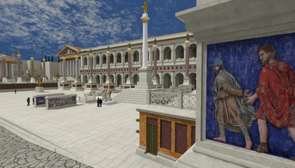 Ambitious VR Experience Restores 7,000 Roman Buildings, Monuments to Their Former Glory