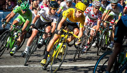 Attractive Cyclists Are More Likely to Win Races