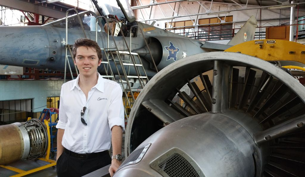 In 2014, Rhys Joseph won a scholarship to study aeronautical engineering at South Africa's University of the Witwatersrand.