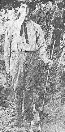 Parker serving in the U.S. Army, c.1929