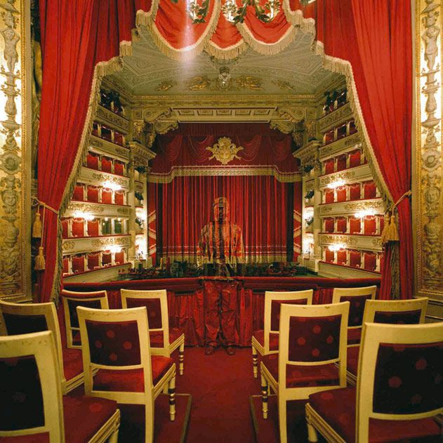 Royal Box at Teatro alla Scala, 2010