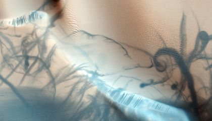 Picture of the Week—The Swirls of Mars