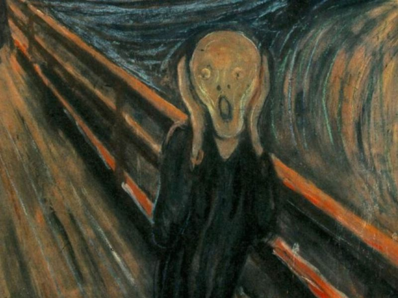 the mysterious motives behind the theft of the scream smart news