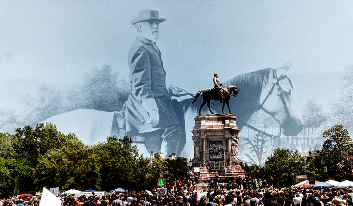The Images That Sold Confederate Monuments