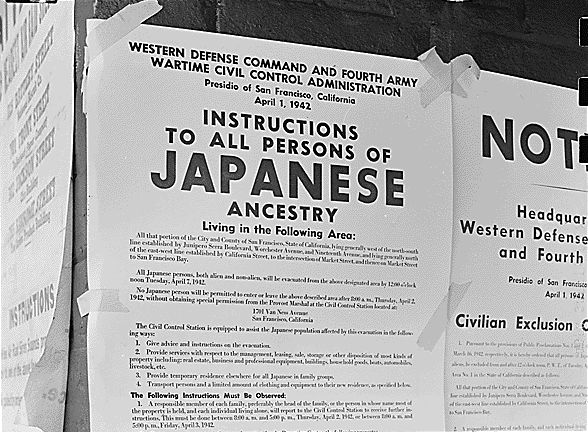 Japanese American exclusion
