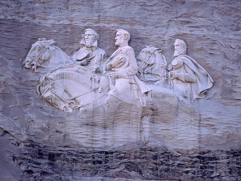 What will happen to stone mountain america s largest confederate