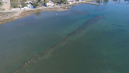 Naval Base Believed to Have Been Used in the Legendary Battle of Salamis Found