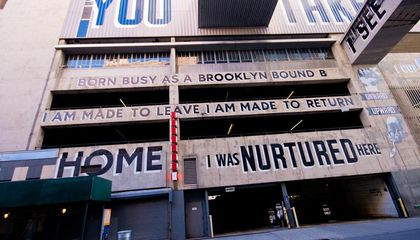 One of the Most Popular Pieces of Street Art in Brooklyn Is Coming Down