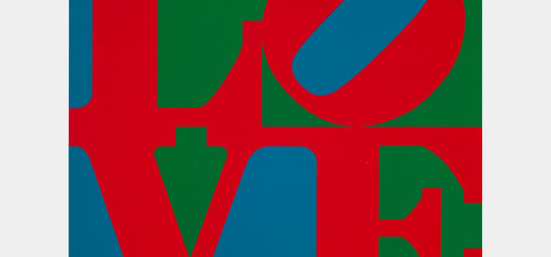 "Caption: Robert Indiana, The Artist Who Invented ""LOVE"""