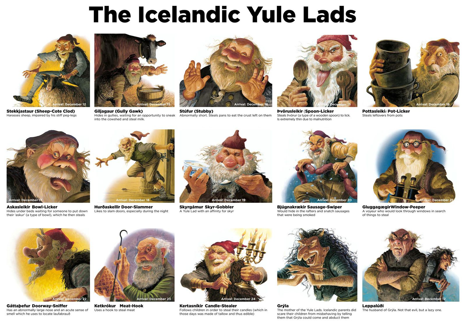 Image result for the yule lads