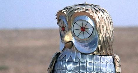 Bubo the robotic owl from the 1981 film Clash of the Titans