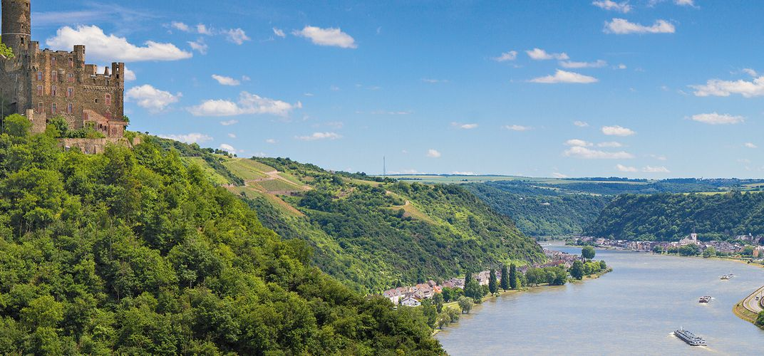 Germany's scenic Rhine River Valley