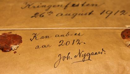 UPDATE: Contents of 100-Year-Old Norwegian Package Turn Out to Be Horribly Disappointing