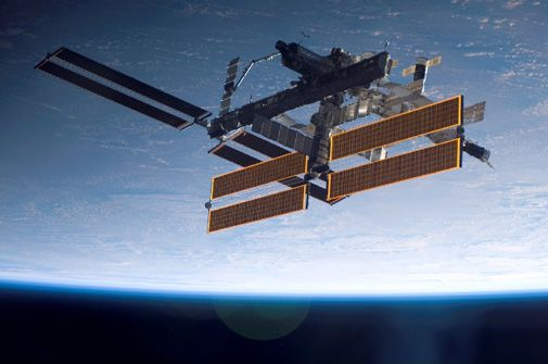 Students get a chance to name part of the space station.