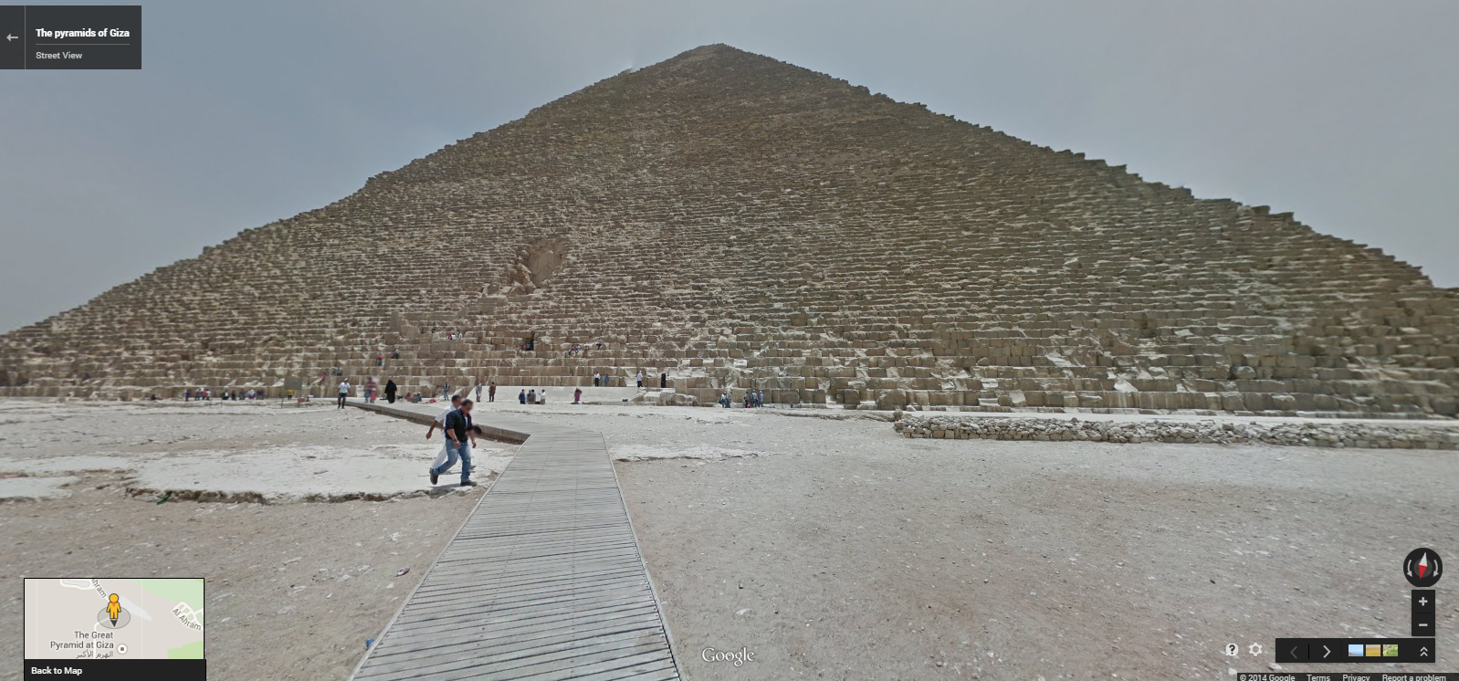 Google Street View Brings Egypt S Pyramids To A Computer Near You