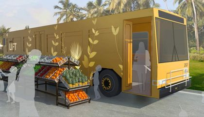 In Hawaii, Old Buses Are Being Turned Into Homeless Shelters