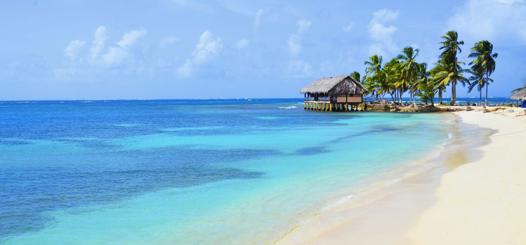 The delightful beaches of the San Blas Islands