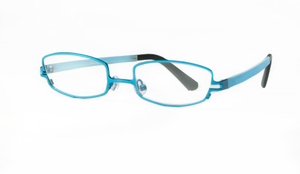 The Specs4Us glasses have lower nose bridges and longer ear pieces.