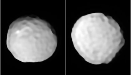 The Most Cratered Object in the Asteroid Belt Looks Like a Golf Ball