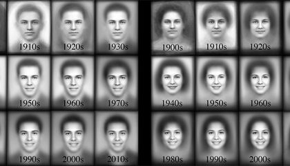 Yearbook Photos Show How Smiles Have Widened Over the Decades