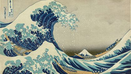 At Home in Hokusai's Floating World