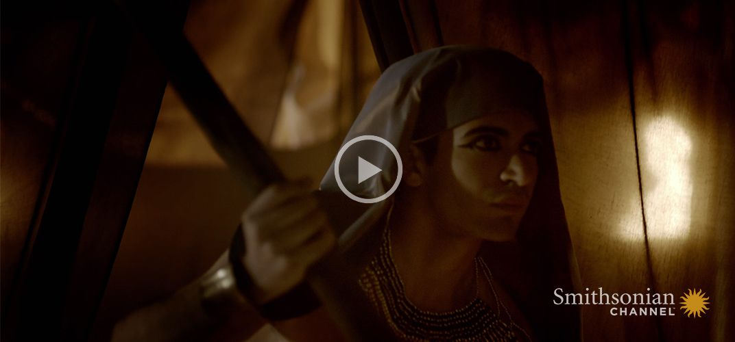 Caption: King Tutankhamun Was Thought To Have A Direct Link To The Sun God