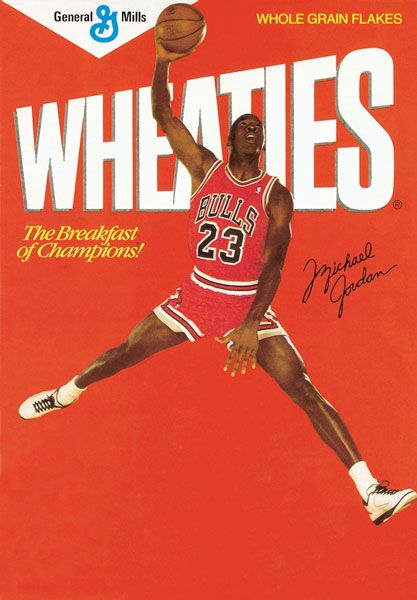 Michael Jordon Wheaties Box