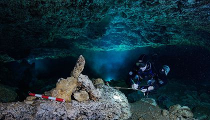 An Underwater Cave Once Hosted the Americas' Oldest Known Ocher Mine