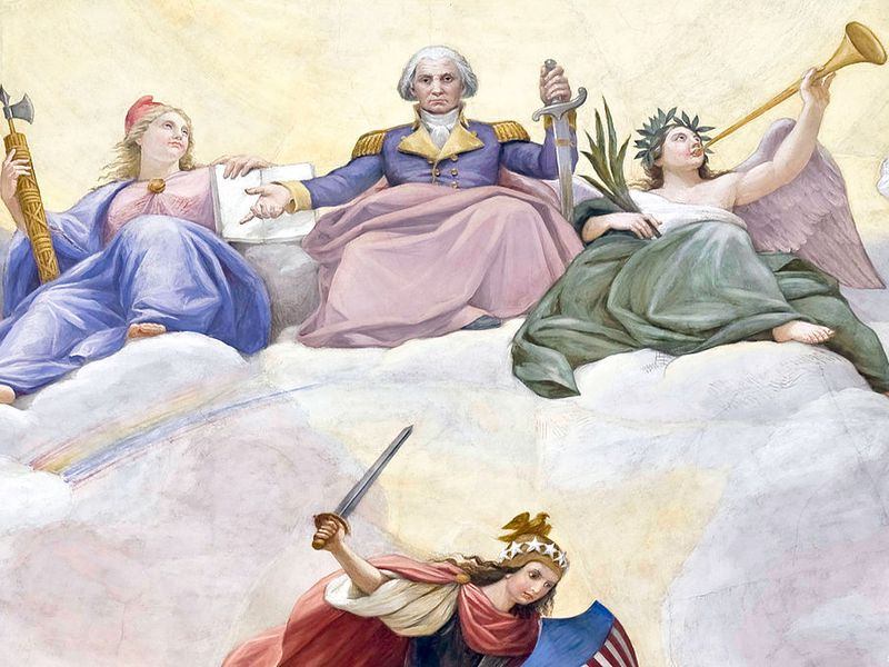 Apotheosis of Washington