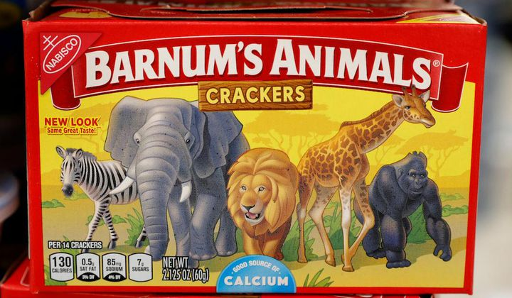 Animal Crackers Have Been Freed From Their Cages
