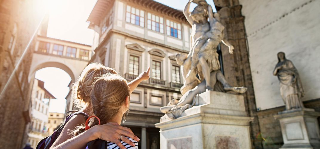 Exploring the arts of Florence with your daughter