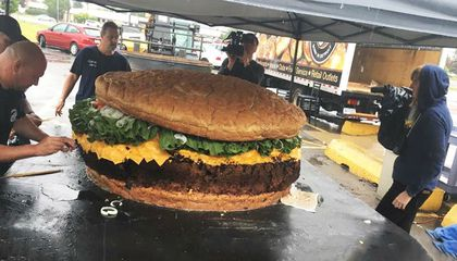 Meaty Secrets Behind the Record-Setting, 1,774-Pound Burger