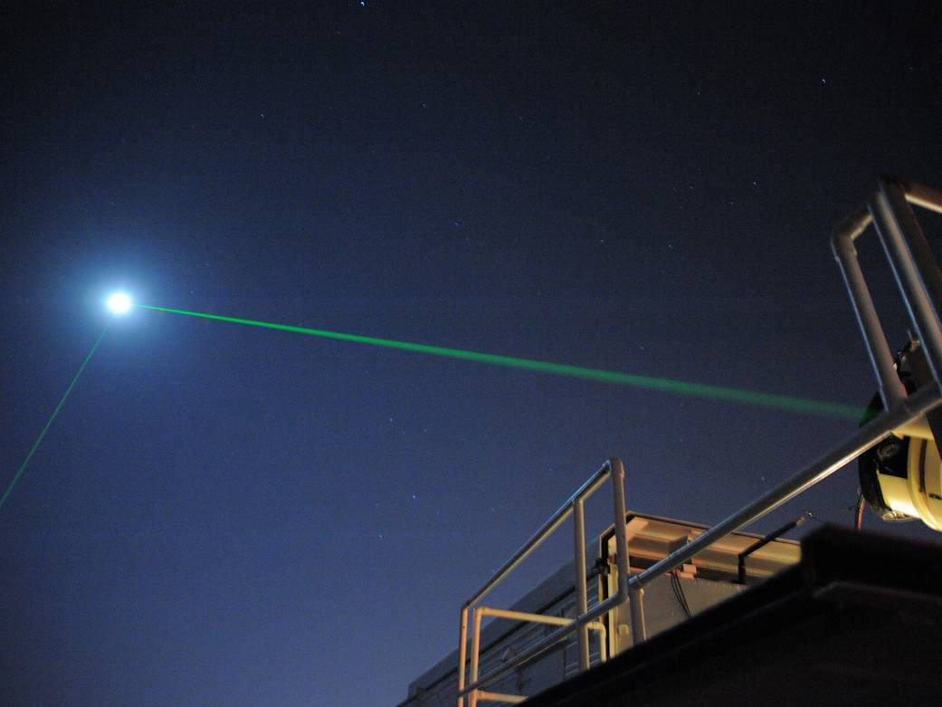 Scientists Shot Lasers at a Lunar Orbiter for a Decade. Then, One Bounced Back