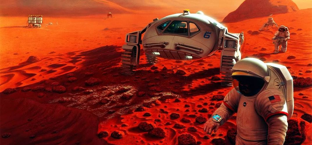 Caption: Mars Explorers Will Face Dangerous Radiation