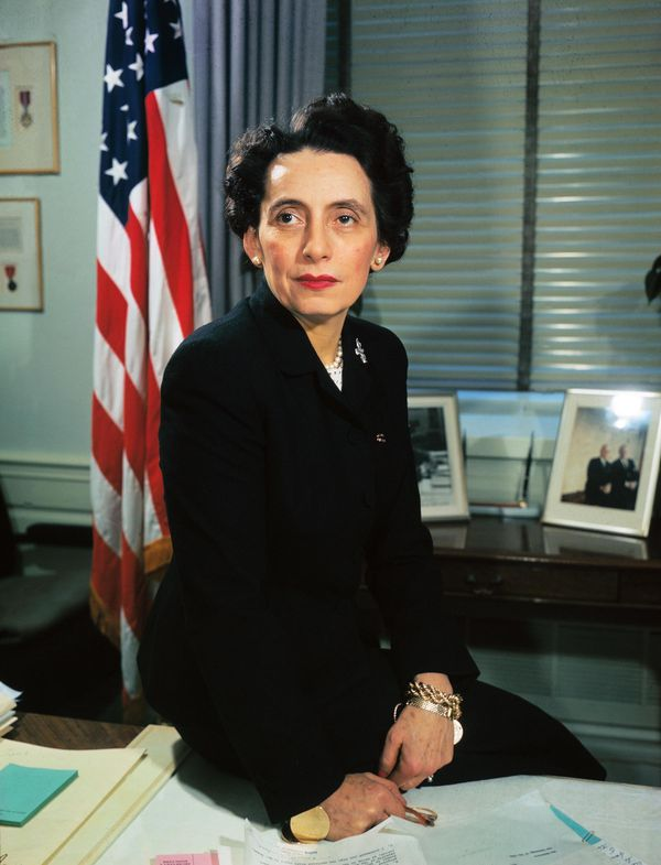 Anna Rosenberg, an assistant secretary of defense, was the highest-ranking woman in department history, but not before facing a smear campaign led by McCarthy.