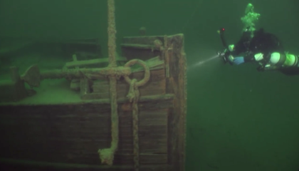 Perfectly Preserved Shipwreck Found in Lake Superior