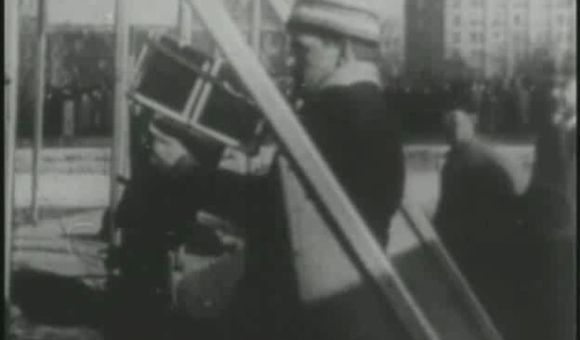 Preview thumbnail for video'Wright B Over Manhattan, 1912
