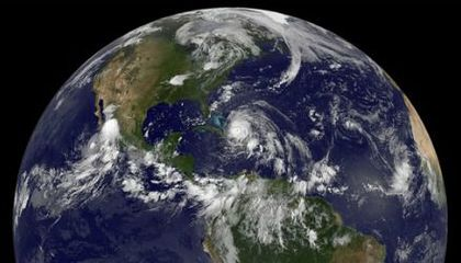 The Satellite Eyes On Irene (And Other Great Resources)