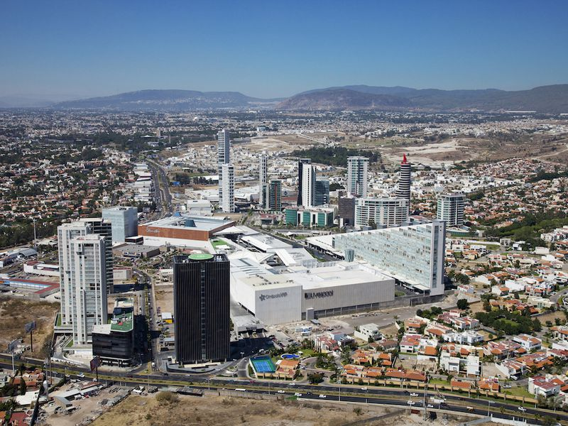 Aerial view of Guadalajara
