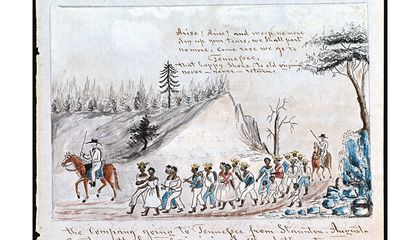 Retracing Slavery's Trail of Tears
