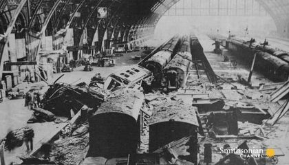 The Crucial Role the British Railway Played During WWII