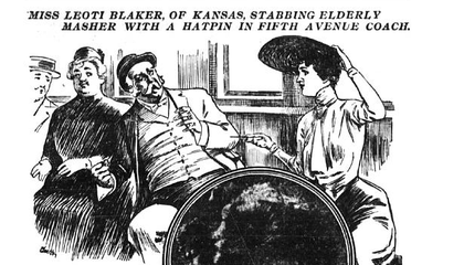 American Women in the 1900s Called Street Harassers 'Mashers' and Stabbed Them With Hatpins