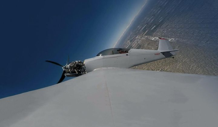 Kitplane Sets New Time-to-Climb Record