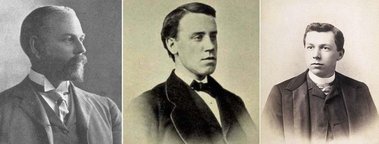 Ernest Fenollosa, his cousin Joseph Silsbee and the young Frank Lloyd Wright